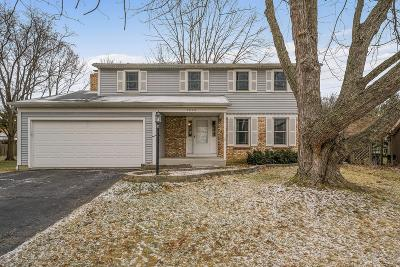 Dublin Single Family Home Contingent Finance And Inspect: 3070 Wakeshire Drive