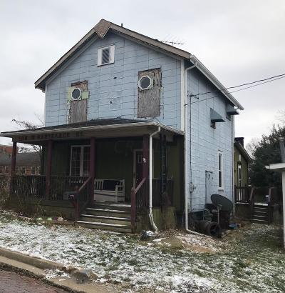 Mount Vernon OH Single Family Home For Sale: $65,000