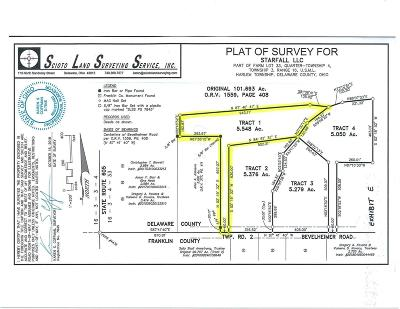 Westerville Residential Lots & Land For Sale: Bevelheimer Road #Tract 1