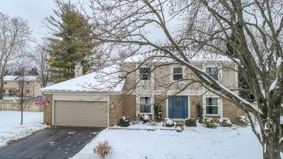 Dublin Single Family Home Contingent Finance And Inspect: 7758 Sanbrooke Road