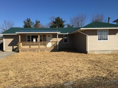 New Vienna OH Single Family Home For Sale: $159,000