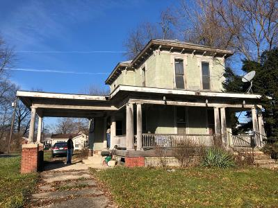 Union County Single Family Home For Sale: 47 S Mill Street