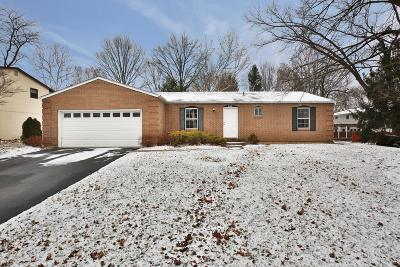 Worthington Single Family Home For Sale: 840 Middlebury Drive