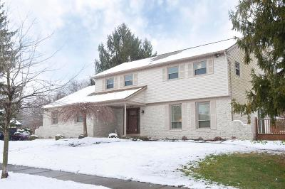 Columbus Single Family Home For Sale: 1402 Briarmeadow Drive