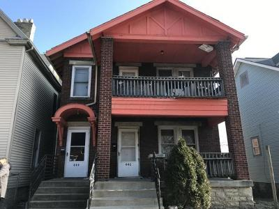 Columbus Multi Family Home For Auction: 444-446 Linwood Avenue