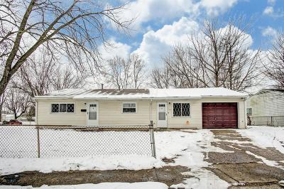 Columbus Single Family Home For Sale: 3087 Woodway Road