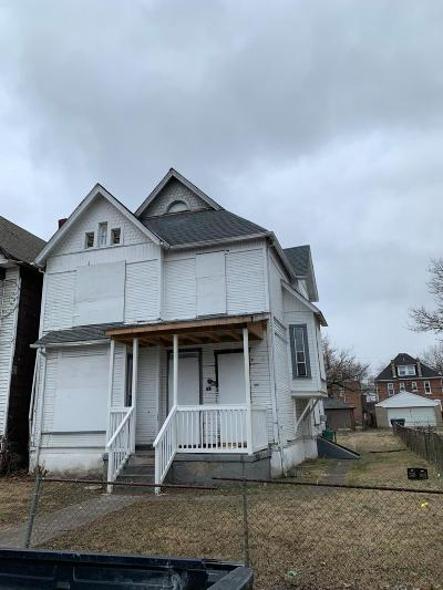 Columbus Single Family Home For Sale: 247 N 17th Street