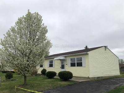 Galloway OH Single Family Home For Sale: $129,900
