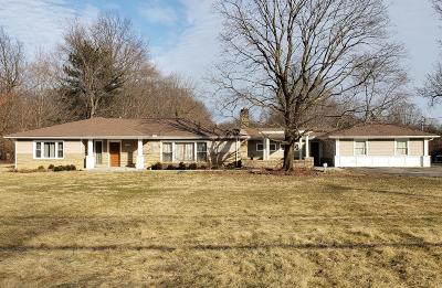 Columbus Single Family Home For Sale: 4100 Maize Road