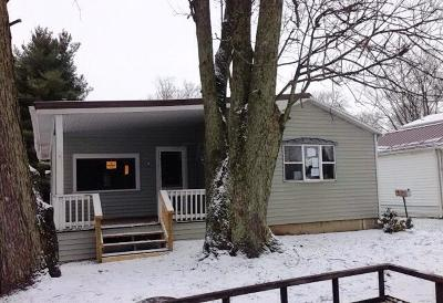 Mount Vernon OH Single Family Home For Sale: $40,200