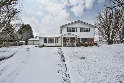 Circleville Single Family Home For Sale: 379 Walnut Creek Pike