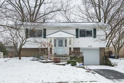 Reynoldsburg Single Family Home For Sale: 6639 Carriage Lane