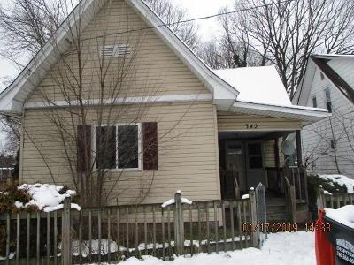 Single Family Home For Sale: 342 Elmwood Avenue