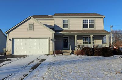 Pickerington Single Family Home For Sale: 654 Manchester Circle N