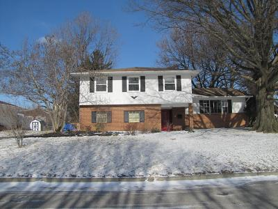 Columbus Single Family Home For Sale: 2670 Halleck Drive