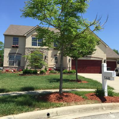 Hilliard Single Family Home For Sale: 5448 Larkshire Court