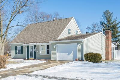Gahanna Single Family Home Sold: 196 Lincolnshire Road