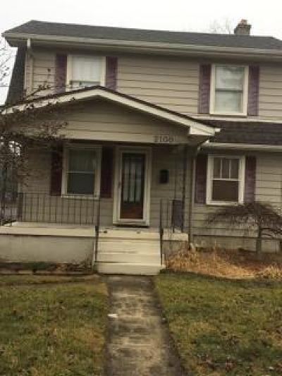Dayton Single Family Home For Sale: 2100 Moreland Avenue