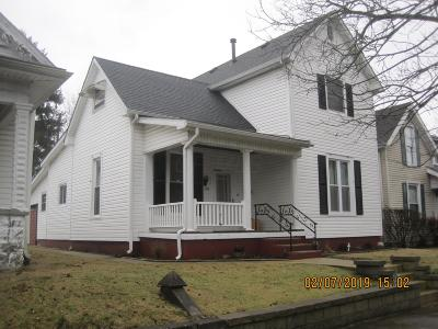 Washington Court House OH Single Family Home For Sale: $129,900