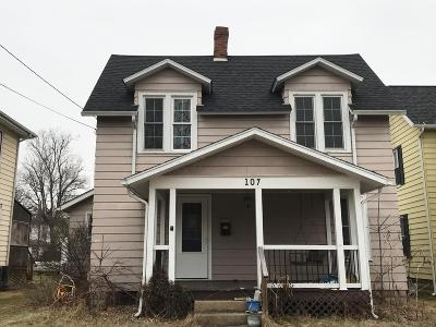 Mount Vernon OH Single Family Home For Sale: $69,300