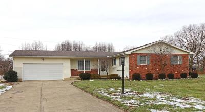 Circleville Single Family Home Contingent Escape: 1615 Winding Road