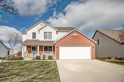 Hilliard Single Family Home For Sale: 5844 Plank Drive