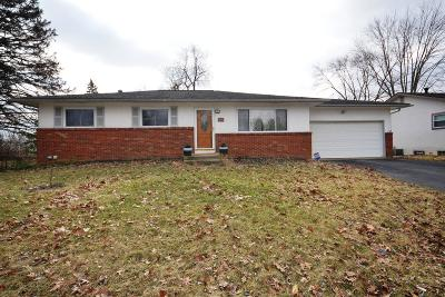 Gahanna Single Family Home For Sale: 463 McCutcheon Road
