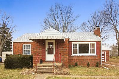 Mount Vernon OH Single Family Home For Sale: $85,000