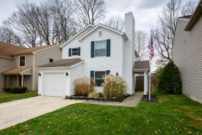Gahanna Single Family Home For Sale: 346 Halsbury Circle