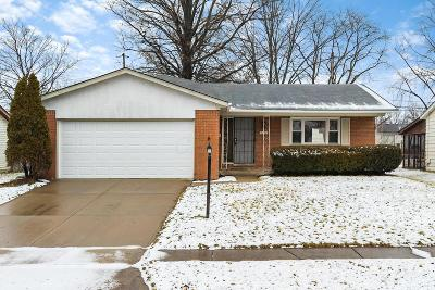 Columbus Single Family Home For Sale: 2154 Trent Road