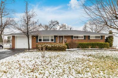 Reynoldsburg Single Family Home For Sale: 1666 Foxchase Road