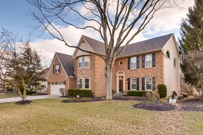 Hilliard Single Family Home For Sale: 3505 Scioto Run Boulevard