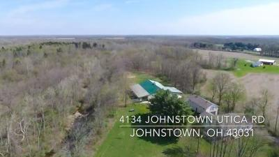 Licking County Single Family Home For Sale: 4134 Johnstown Utica Road