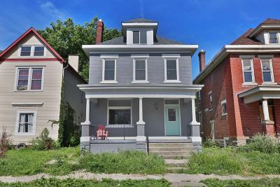 Columbus Single Family Home For Sale: 461 S Ohio Avenue