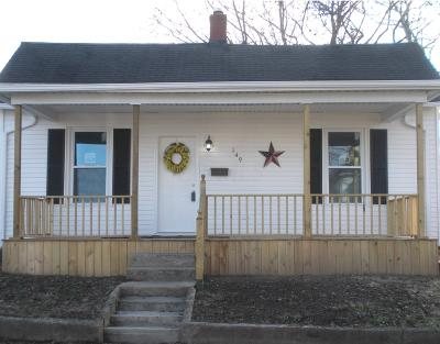 Circleville OH Single Family Home For Sale: $94,900