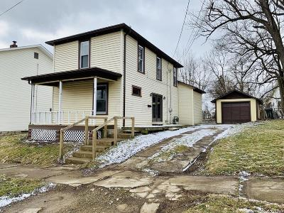 Mount Vernon OH Single Family Home For Sale: $91,000