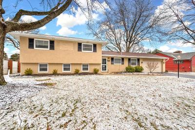 Franklin County, Delaware County, Fairfield County, Hocking County, Licking County, Madison County, Morrow County, Perry County, Pickaway County, Union County Single Family Home For Sale: 1490 Zollinger Road