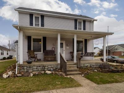 Ashville OH Single Family Home For Sale: $199,900