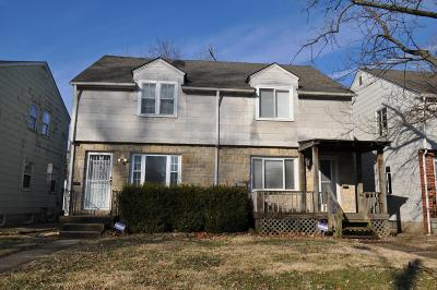 Columbus Multi Family Home For Sale: 729-731 S Chesterfield Road