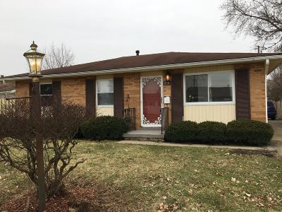 Columbus Single Family Home For Sale: 1335 Evergreen Road