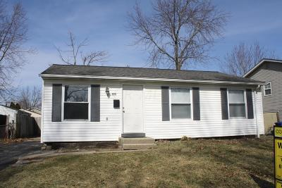 Columbus OH Single Family Home For Sale: $114,900