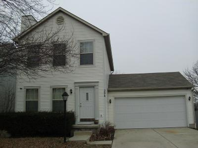 Columbus Single Family Home For Sale: 394 Chatterly Lane