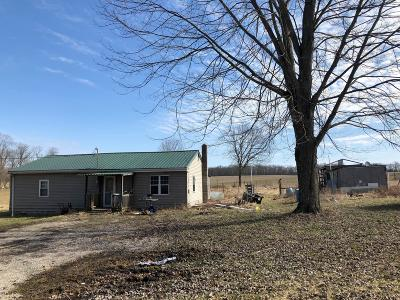 Rushville Single Family Home For Sale: 6482 County Road 30, Zion Rd NW