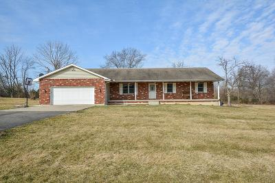 Baltimore Single Family Home For Sale: 6077 Lancaster Kirkersville Road NW