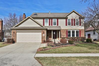 Hilliard Single Family Home For Sale: 5604 Greystone Lane