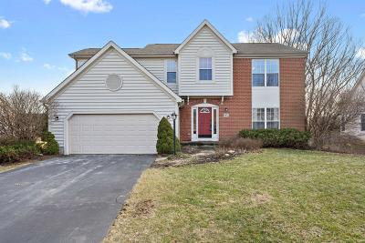 Westerville Single Family Home For Sale: 5832 Pebble Beach Place