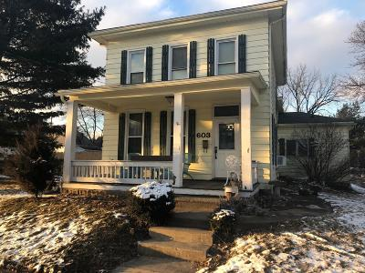 Mount Vernon OH Single Family Home For Sale: $126,900