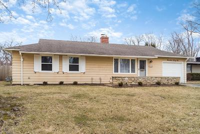 Upper Arlington Single Family Home For Sale: 1966 Langham Road