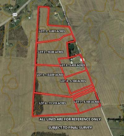 Sunbury Residential Lots & Land For Sale: Lot 5 Plantation Road