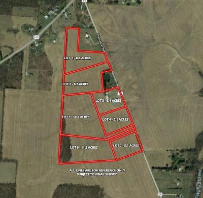 Sunbury Residential Lots & Land For Sale: Lot 7 Plantation Road